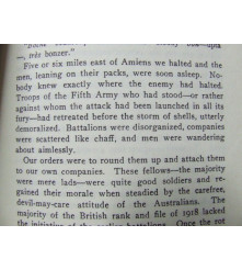 Hell's Bells Maxwell VC Digger account of Life with 18th Battalion