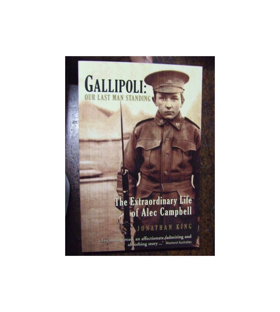 Gallipoli Our Last Man Standing Alec Campbell