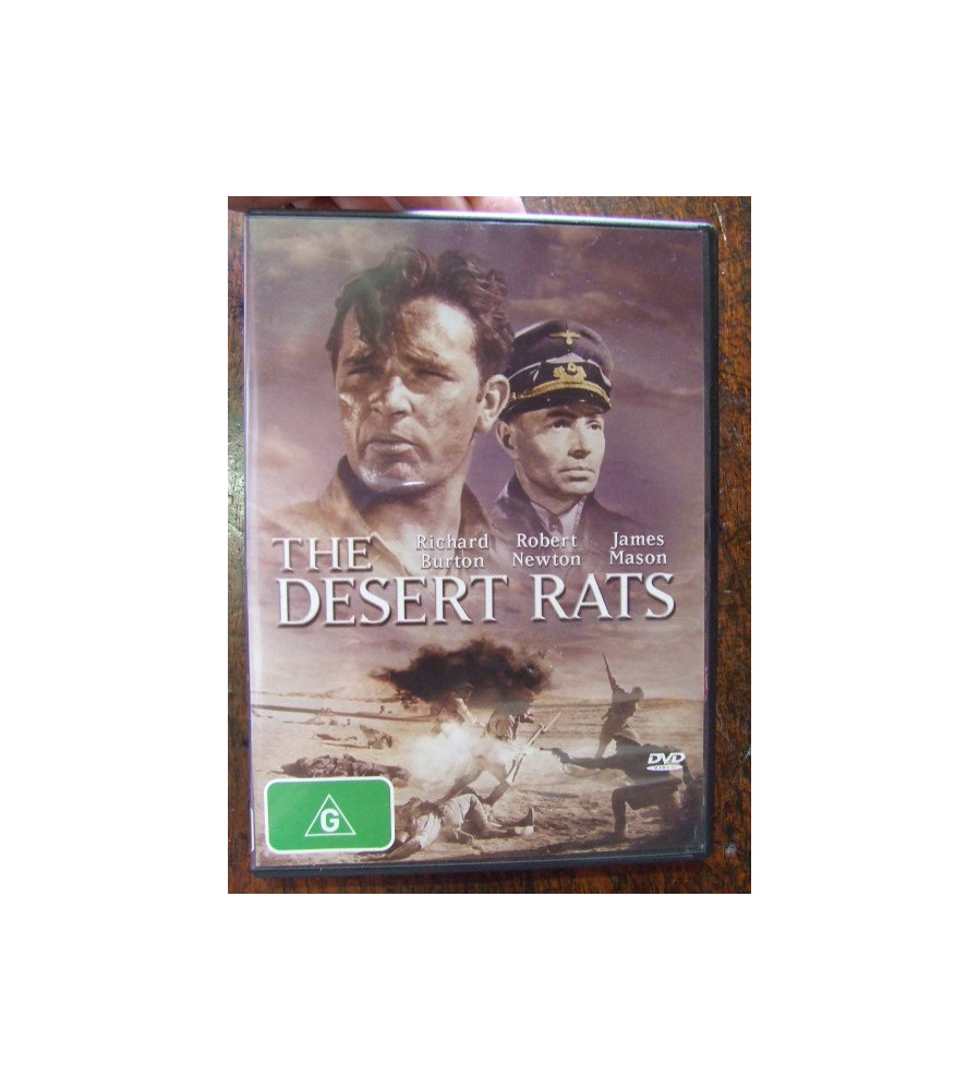 The Desert Rats - 1953 Movie depicts Rats of Tobruk siege