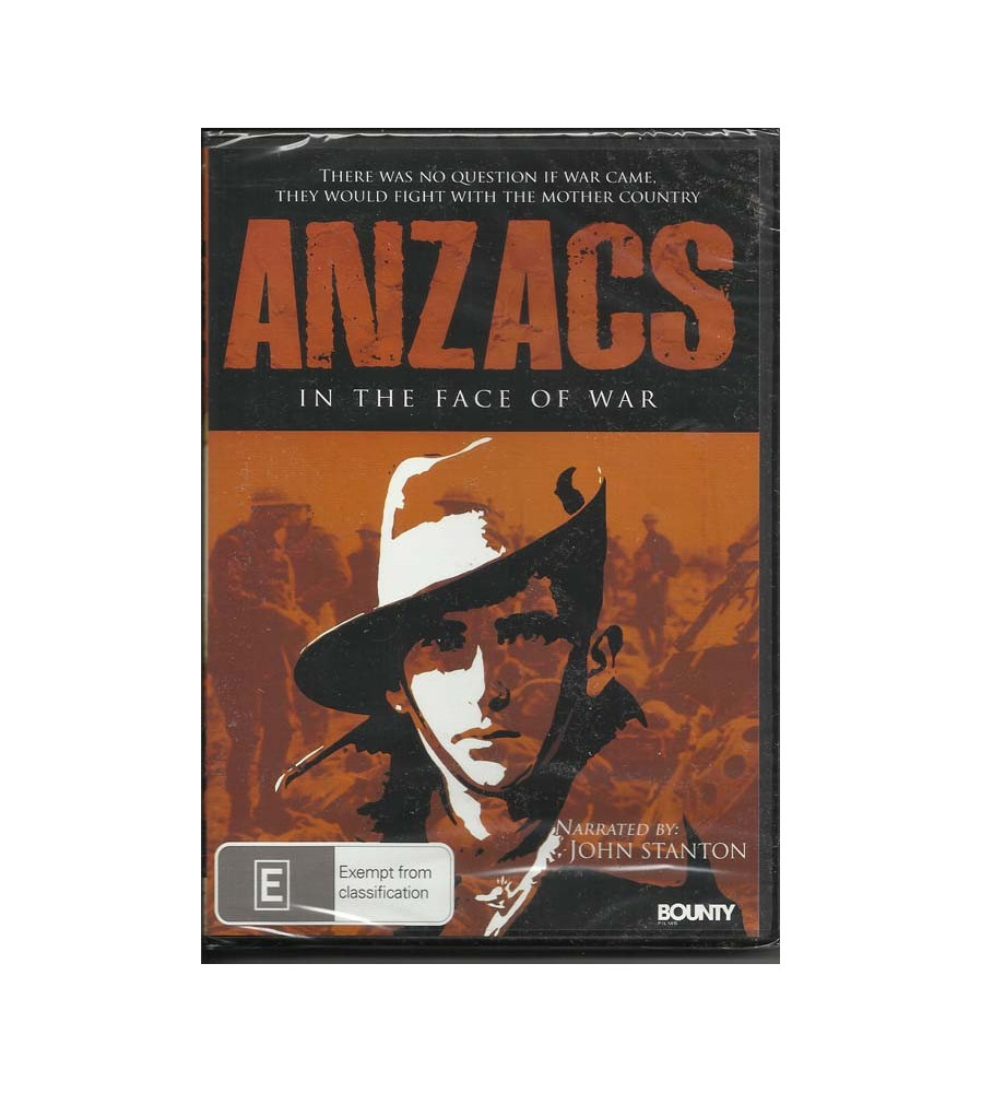 Anzacs in the Face Of War Dvd
