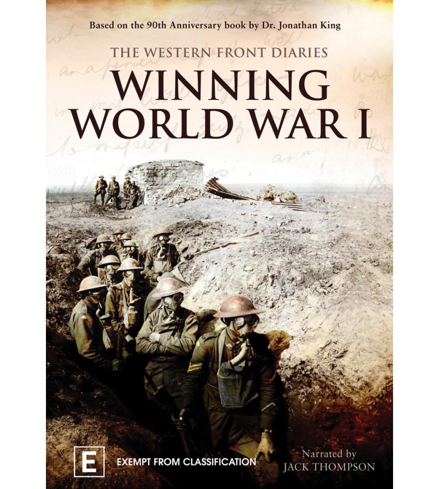 Winning World War One The Western Front Diaries DVD