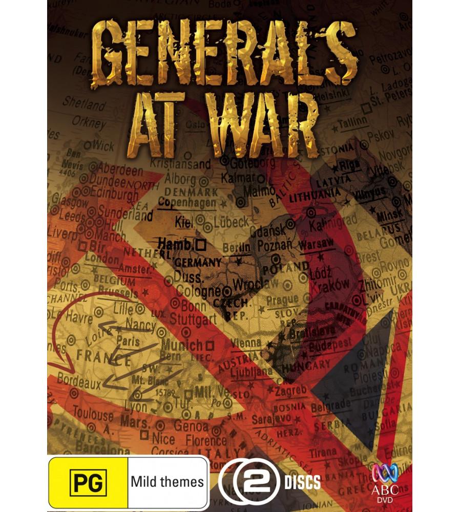 Generals at War WWII Rommel Model Montgomery