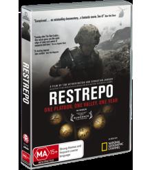Restrepo Outpost Korengal Afghanistan War Doco DVD