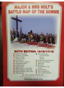 MAJOR & MRS HOLT'S BATTLE MAP OF THE SOMME