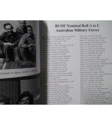 Nominal Roll Australian Soldiers in BCOF Occupation Japan 1946-1952