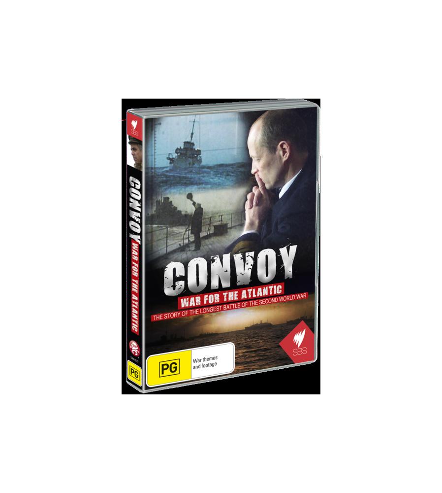 Convoy War for the Atlantic WW2 DVD