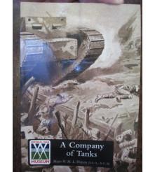 COMPANY OF TANKS by Major W. H. L. Watson war tank book