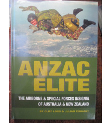 Anzac Elite: The Airborne Special Forces Insignia of Australia book and NZ