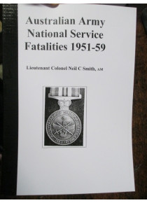 Australian Army National Service Fatalities 1951-59