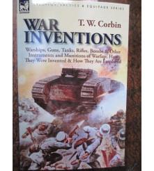 WW1 War Inventions Tanks Guns Artillery Ships book