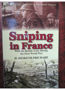Sniping in France with the British Army WW1 book