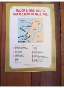 Major & Mrs Holt's Battle Map of the Gallipoli Battlefield