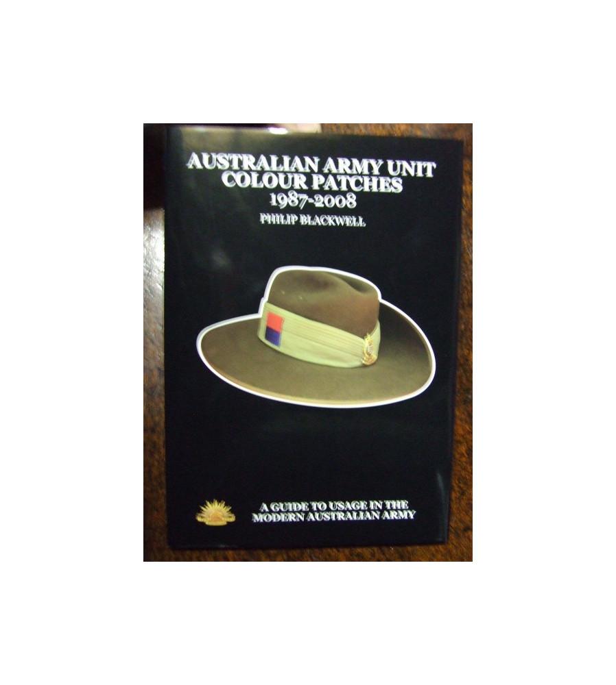 Australian Army Unit Colour Patches 1987 - 2008