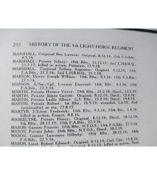 History of the 5th Light Horse Regiment 1914-19