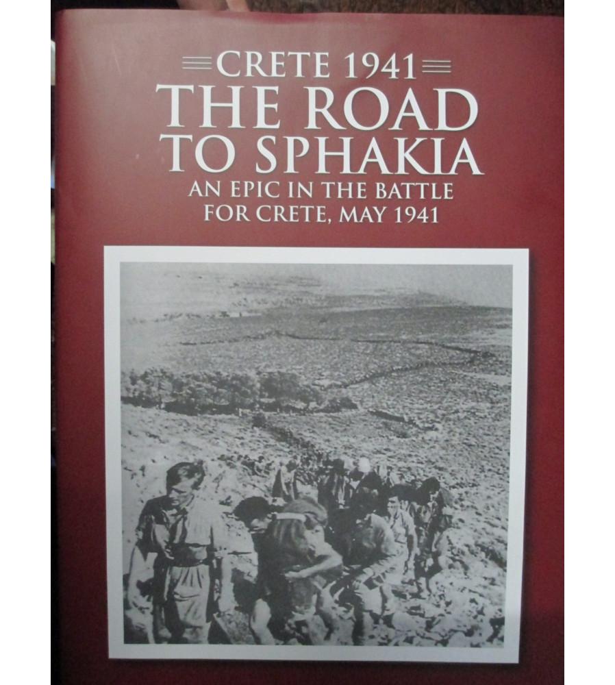 Crete 1941 The Road To Sphakia History Battle For Crete book