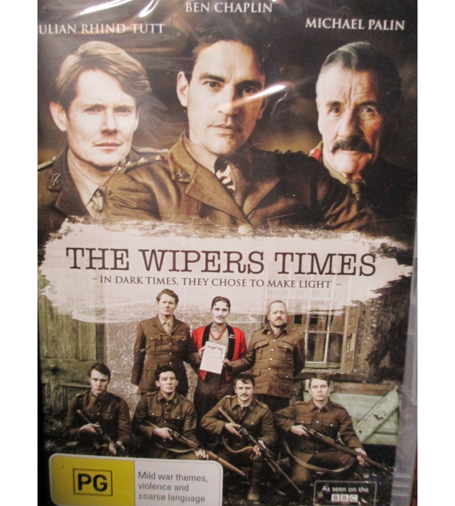The Wipers Times - WW1 Troop Newspaper dvd