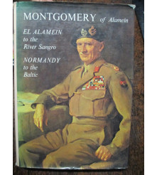 Montgomery of Alamein Normandy WW2 book