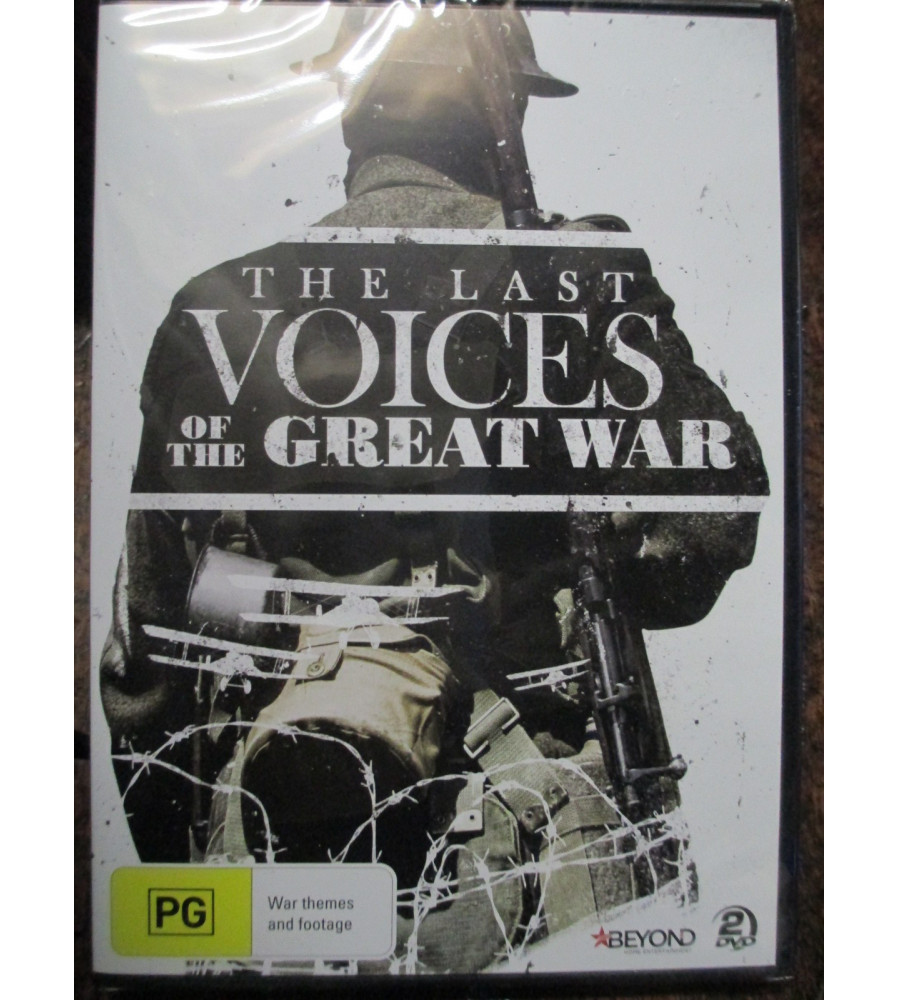 Last Voices of the Great War WW1 DVD