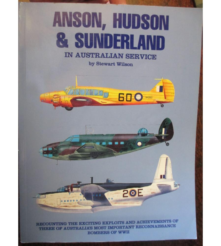 Anson, Hudson & Sunderland in Australian Service