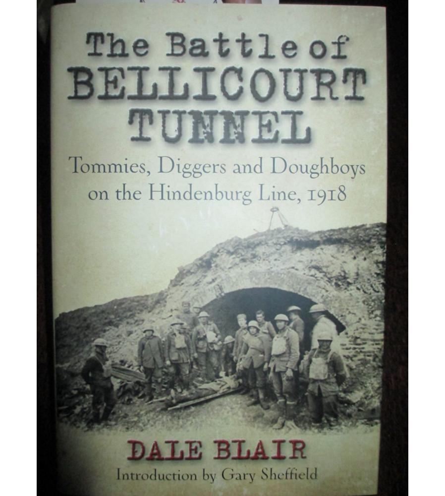 Battle Of Bellicourt Tunnel Hindenburg Line 1918 book
