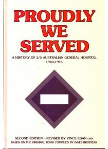 History 2/5 Australian General Hospital AGH Greece New Guinea