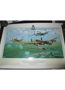 Australian Dambuster Painting Poster