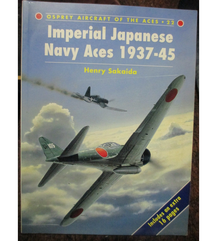 Osprey Aces Imperial Japanese Navy Aces 1937 -45