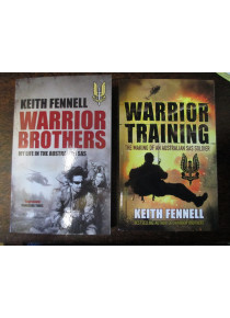 2x  Books  Warrior Brothers and Warrior Training by K Fennell