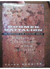 Doomed Battalion History 2/ 40th Infantry Unit WW2