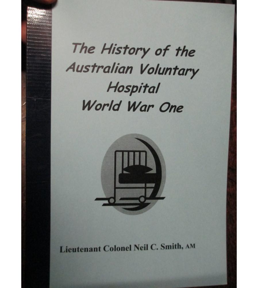 History Of the Australian Voluntary Hospital WW1