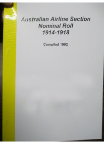 Australian Airline Section Nominal Roll 1914-18