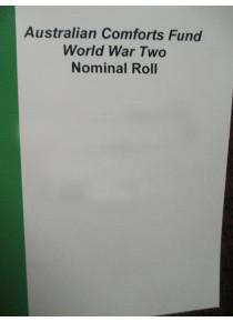 Australian Comforts Fund WW2 Nominal Roll