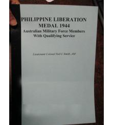 Philippines Liberation Medal 1944 List Australian Recipients