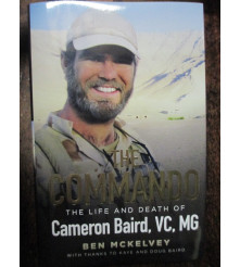 The Commando The life and death of Cameron Baird VC book