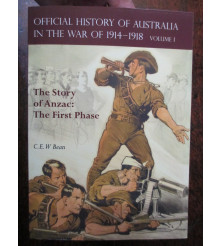 Official History War 1914-18 Vol I 1915 Story Of Anzac book