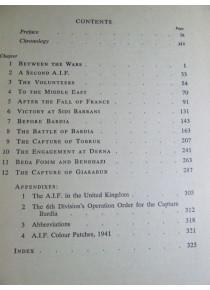 Official Australian History Benghazi Capture Tobruk Nth Africa War
