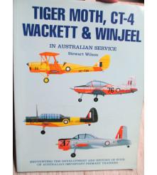 TIGER MOTH CT-4 WACKETT & WINJEEL IN AUSTRALIAN SERVICE