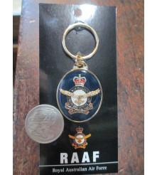 Australian RAAF Badge Key Ring