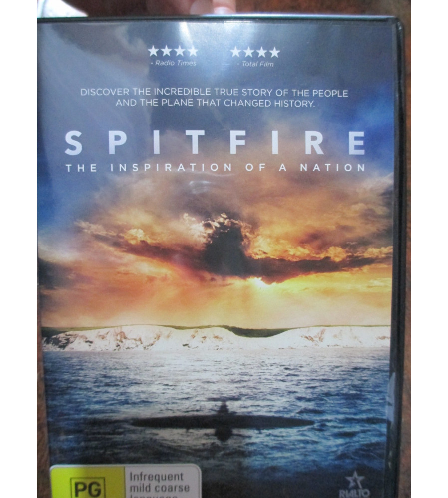 SPITFIRE OFFICIAL 2018 MOVIE DOCO DVD