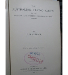 Australian Bean's Official History WW1 AFC Flying Corps 8