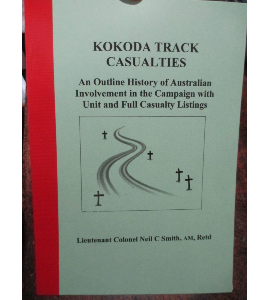 Roll of Kokoda Track Casualties - An Outline History of Australian Involvement