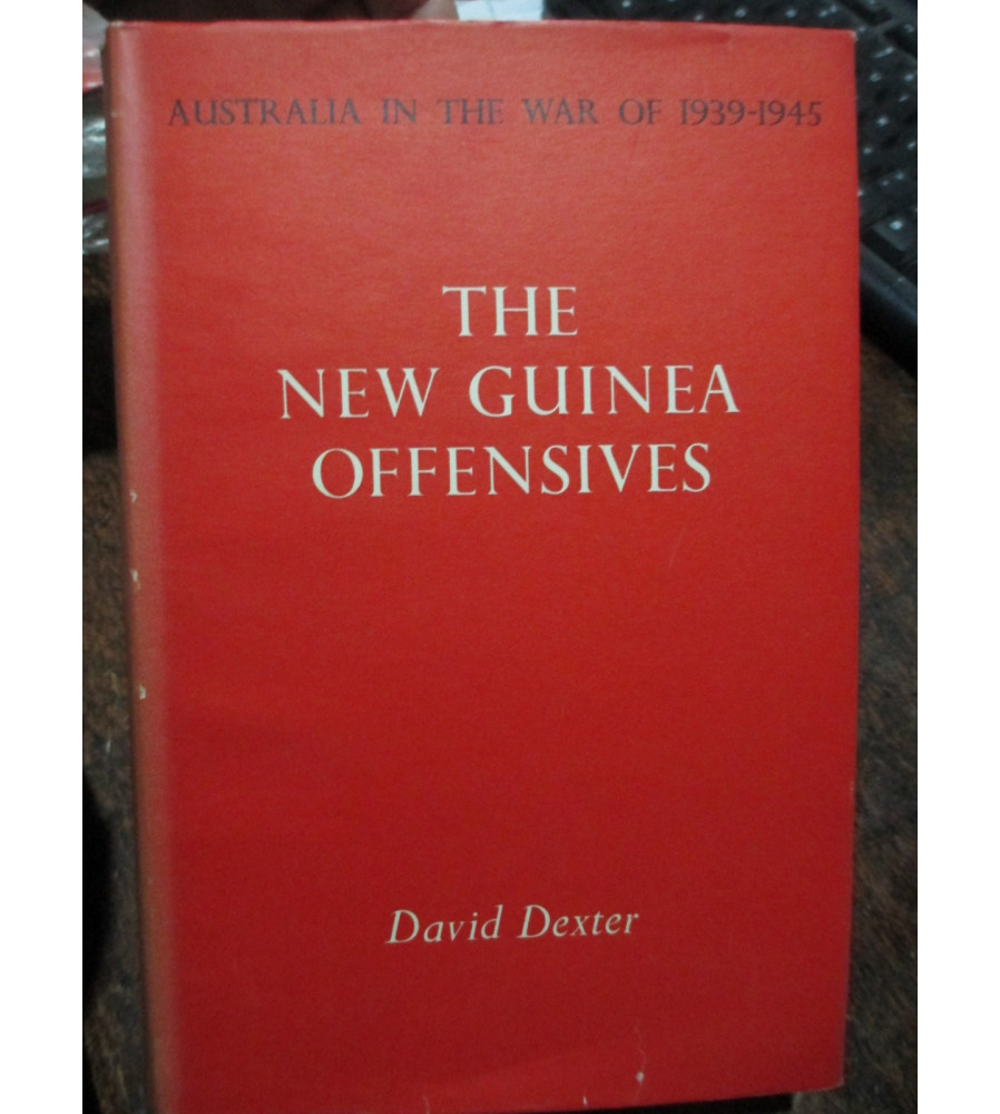 New Guinea Offensives - AWM Official History WW2