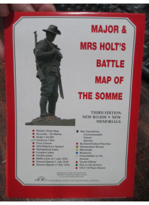 Major & Mrs Holt's Battle Map of the Somme Battlefield