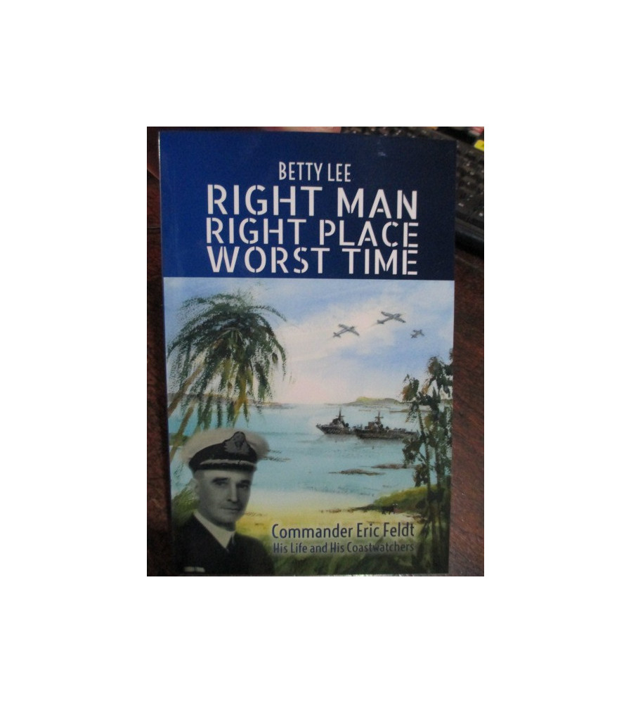 History of Commander Feldt & his Coastwatchers book