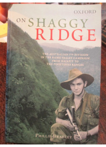 On Shaggy Ridge Australian Army Battle Rare Oxford