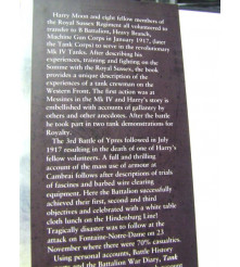 Veteran's History of Tank Action in WW1 Messines