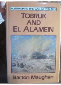 Tobruk El Alamein - AWM Official History WW2