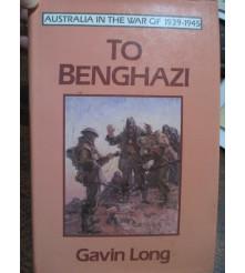Official Australian History Benghazi Tobruk Nth Africa War