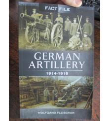 German Artillery 1914-18 Book