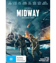 Midway 2020 Movie DVD